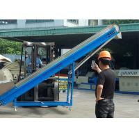 304 Stainless Steel Pipe Plastic Magnetic Conveyor , Power 0.4kw Magnetic Chip Conveyor Manufactures