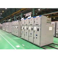 Indoor High Voltage Gas Insulated Switchgear 35kv With Cabinet Structure Manufactures