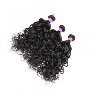 China Natural Wave Virgin Hair Human Hair Extensions Bundle Natural Looking No Tangle on sale