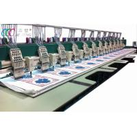 Automatic Cloth Multi Needle Chenille Embroidery Machine / Machinery 12 Head Manufactures