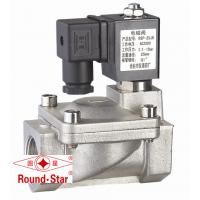 """Cheap Stainless 2 Way Solenoid Water Valve , 3/8"""" Electric Solenoid Valve For Water for sale"""