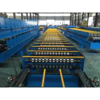 25 Stations Roof Panel Roll Forming Machine Coil Width 1000mm High Productive Manufactures