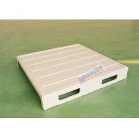 Integral molded steel pallet for warehouse storage Manufactures