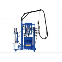 2 Components Glue Pumps Manual Sealant Spreading Machine For Double Glazing Making Manufactures