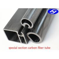 Special Section Pultruded Carbon Fiber Rod For Outdoor Main Structural Body Manufactures