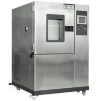 LCD Touch Temperature Humidity Test Chamber 304 Stainless Steel Sheet Material Manufactures
