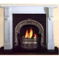 China Cast Iron Fireplace Insert,Marble Fireplace Frame,Accessory on sale