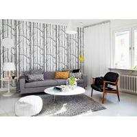 Cheap Vantage Birch Tree Modern Removable Wallpaper / Wallpaper for Living Room  0.53*10M for sale
