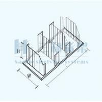 China Custom Supermarket Products Seperated Wire Metal Display Racks and Units on sale