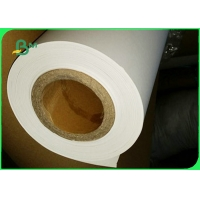 Garment Factory Uncoated Plain Plotter Paper Roll 60gsm 70gsm For CAD Plotting Manufactures