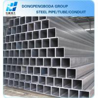 ASTM A500 GRADE A  GRADE B  rectangular steel pipe hollow section made in China market Manufactures