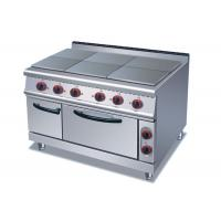 Professional Cooking Lines 1 / 4 / 6 Plates Electric Stainless Steel Hot Plate Manufactures