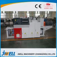 3 Phases 380V Conical WPC Extrusion Line Three Roller Calendering Equipment Manufactures