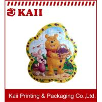 15 X 20 CM Size Winnie Puuh Paper Jigsaw Puzzle / Paper Jigsaw Puzzle For Fun And Education Manufactures