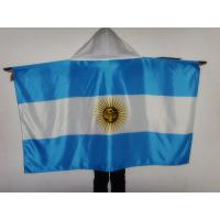 Durable Country Sport Body Flag / Flag Body Cape With Custom Logo 150*90 Cm Manufactures