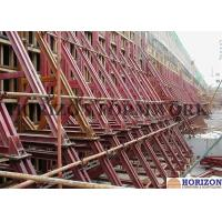 Heavy Strength One Sided Concrete FormworkWaterproof Surface 8.9m Height Manufactures