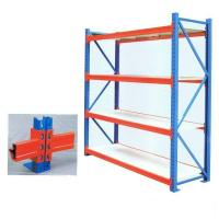 Supermarket Heavy Duty Warehouse Shelving  Longspan Drive Through Type Manufactures
