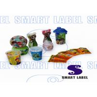 China 0.04mm Custom Shrink Wrap Labels Sleeve for Mouth Spray 40 Micron CMYK Printing on sale