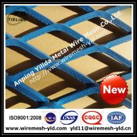 blue paint heavy duty expanded metal for walkway,ramp,metal sheet Manufactures