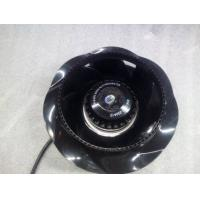 PA66 DC Centrifugal Blower Fans Curved Extractor Fan With PAM / PWM Control Manufactures