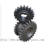 Standard Industrial DuplexChain Sprocket Wheels For Double Roller Chain Manufactures