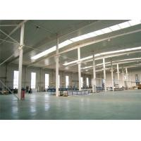 Stable Structural Steel Frame Construction Prefabricated Warehouse Buildings Manufactures