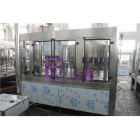 China Aseptic Round Bottle Drinking Water Filling Plant , Liquid Filler Equipment on sale