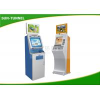 China Food Ticket Vending Machine , Card Dispenser Self Service Kiosk 19 Inch Touch Screen on sale
