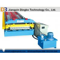5.5kw Motor Corrugated Roll Forming Machine With Automatic Control System For Steel Plants Manufactures