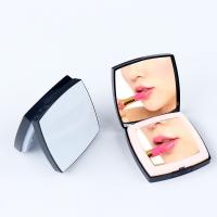 China Square Shape Illuminated Makeup MirrorDouble Sides With Plastic Frame on sale