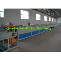 Cheap Non Toxic Rubber Sealing Strip Machine / EPDM Strip Rubber Extrusion Machine for sale