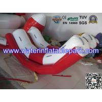 Durable Inflatable Water Totter / PVC Tarpaulin Inflatable Water Games Seesaw Manufactures