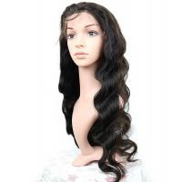 Brazilian Human Hair Lace Front Wigs Body Wave Full 150% Density Manufactures