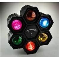 VS-6 RGB 3W LED super color effect light show for Disco, Clubs, KTV, Pub, Bar, party Manufactures