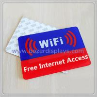 Acrylic Free Wi-Fi Hotspot Signs Manufactures