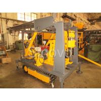 Sinovo Crawler Core Drilling Rig With Diesel Engine And Drilling Depth 180m Manufactures