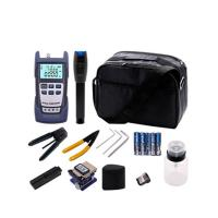 FTTH Fiber Optic Tools Kit With Optical Power Meter And Visual Fault Locator Manufactures