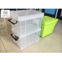 Buy cheap 30Ltr Stackable Usefull Plastic storage boxes container with Clip-lock lid , 19 from wholesalers