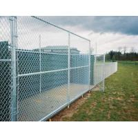 Easy Install Green PVC Coated Wire Mesh Fencing , Security Chain Link Fence Manufactures