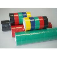 Cheap Colorful PVC Electrical Tape / Rubber Electrical Tape ISO SGS ROHS Certificate Approved for sale