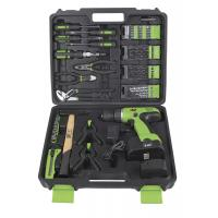 12v 14.4v 18v Electric Power Drill Set / Cordless Drill Kits with Screwdrivers and Cutting Plier Manufactures