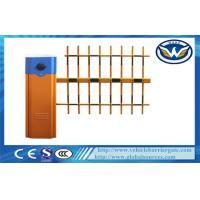 Car Parking Vehicle Barrier Gate 6 second With Three  Fence Boom Length 6M