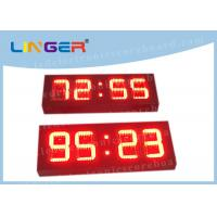 China Large Display Digital Countdown Timer , Railway Station Electronic Countdown Clock on sale