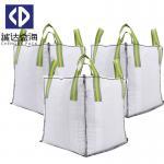 Skirt Top 1 Tonne Bulk Bags / Jumbo Bulk Bags Moisture Proof Customized Color Manufactures