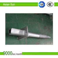 Ground Anchor Screw Piles for Solar Panel Bracket Manufactures