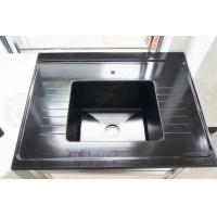 Buy cheap Black Color Epoxy Resin Sink With Drain Grooves Use For Science Lab Furniture from wholesalers