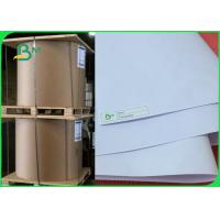 100% Wood Pulp Uncoated Copier Paper Rolls 70gsm / 75gsm In Large Size Manufactures