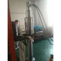 Steering double acting hydraulic cylinder with piston and piston rod Manufactures