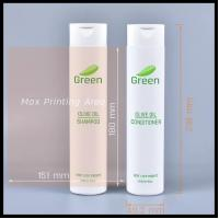 300ml PE Hose Clamshell Shampoo Bottles Cosmetic Lotion Shower Gel Empty Container Manufactures