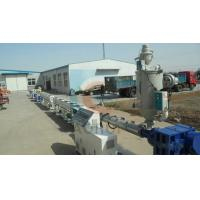 China PP / PE Sewage Pipe Plastic Extrusion Machine , Plastic Drainage Pipe Production Line on sale